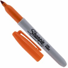 Sharpie Marker Orange