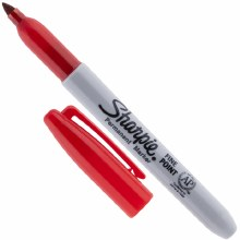 Sharpie Marker Red