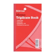 Silvine 605 TriplicateBook 8x5