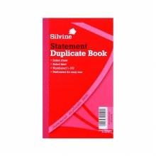 Silvine 609 Duplicate Book 8x5