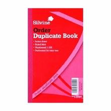 Silvine 610 Order Dupl-6 Books