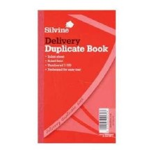 Silvine 613 Delivery Book 8x5