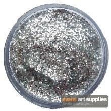 Snaz 12ml Glitter Gel Silver