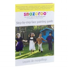 Snaz Face Painting Guide Book