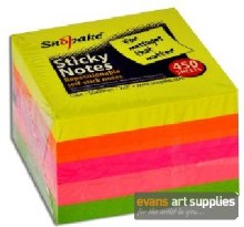 Snopake Neon Sticky Notes 450s