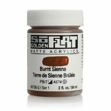 Golden SoFlat 59ml Burnt Sienna