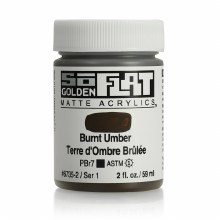 Golden SoFlat 59ml Burnt Umber