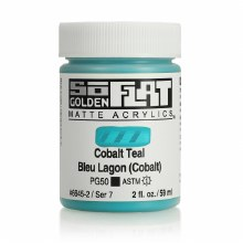Golden SoFlat 59ml Cobalt Teal