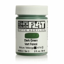 Golden SoFlat 59ml Dark Green