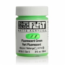Golden SoFlat 59ml Fluorescent Green