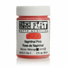 Golden SoFlat 59ml Naphthol Pink