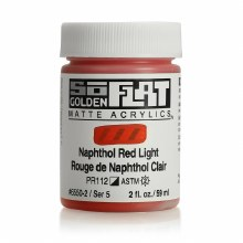 Golden SoFlat 59ml Naphthol Red Light