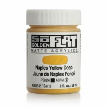 Golden SoFlat 59ml Naples Yellow Deep
