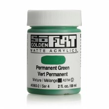 Golden SoFlat 59ml Permanent Green