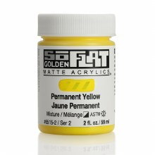Golden SoFlat 59ml Permanent Yellow