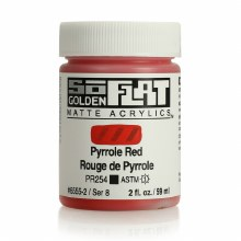 Golden SoFlat 59ml Pyrrole Red