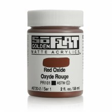 Golden SoFlat 59ml Red Oxide