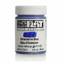 Golden SoFlat 59ml Ultramarine Blue