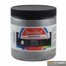 Speedball 8oz Acrylic Silver