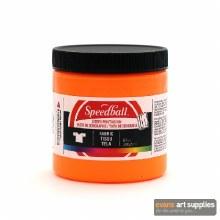 Speedball 8oz Textile Fluo Ora