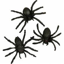 Spiders 4cm 10 per pack
