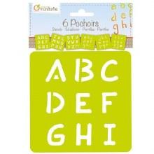 Stencils Alphabet