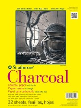 Strathmore 300 Series - Charcoal Pad 11x17""