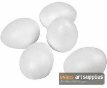 Styrofoam Eggs 10s