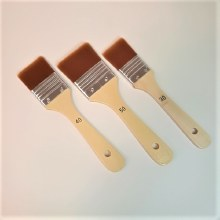 Synthetic Brush Set of 3