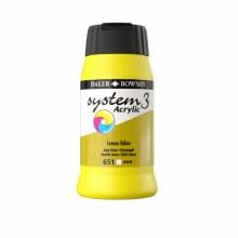 Daler-Rowney System3 500ml Lemon Yellow