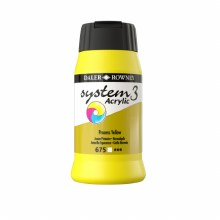 Daler-Rowney System3 500ml Process Yellow