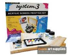 System 3 Screen Printing Set