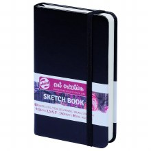Royal Talens Art Creation Black Hardback Sketch Book 9x14cm