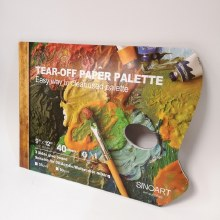 "Palette - Tear Off 9x12"" 40s"