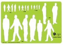 Template Human Figure Male