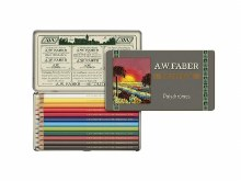 Polychromos Artist Pencils Tin of 12 Anniversary Edition