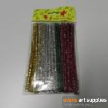 Pipe Cleaners Tinsel 50s