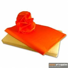 Tissue Paper Orange 50x70cm