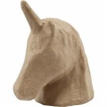 Papier Mache Trophy Unicorn