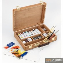 W&N Artists Oil Wooden Box