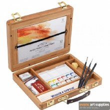 W&N Artists W/C Wooden Box