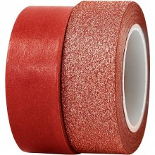 Washi Tape Red 2ass