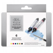 Watercolour Marker Set 6
