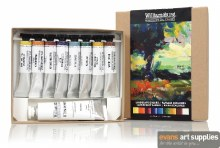 Williamsburg Oil Colour Set - Landscape Colour 8x11ml + 37ml