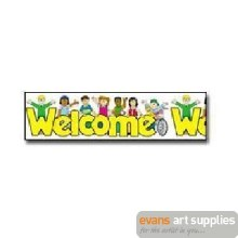 Straight Border - Welcome Kids