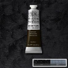 WINTON 37ML LAMP BLACK 25