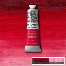 WINTON 37ML PERMANENT ALIZARIN CRIMSON 1