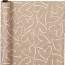 Wrapping Paper Hearts*