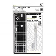 XCut A5 Cutting Mat & Knife