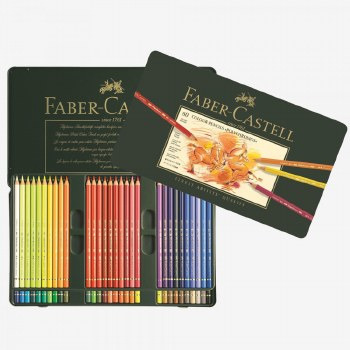 Polychromos Artist Pencils Tin of 60